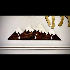 Mountain Coat Hanger—Kids Room—INursery Theme